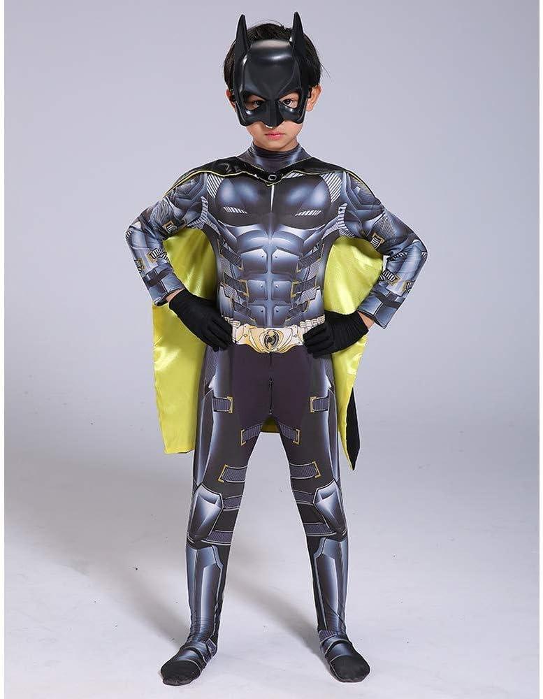 Traje De Cosplay De Superman Batman Niños Disfraces Mono Onesies ...