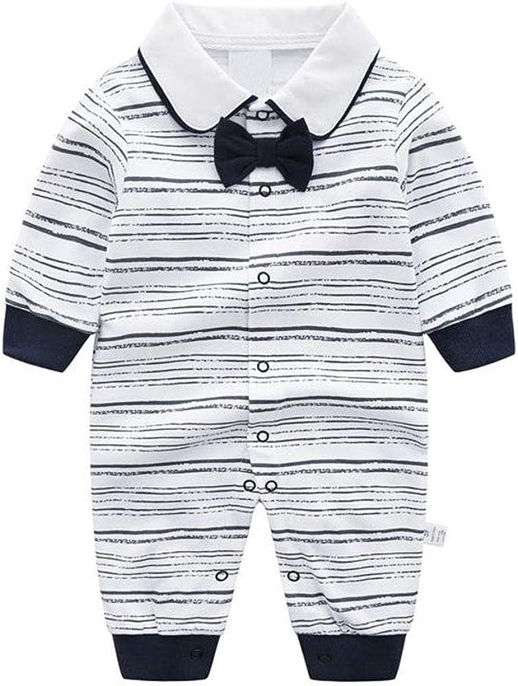 Recién Nacido Pelele Bebé Niño Pijama de Algodón Mameluco Tuta Trajes 0-3 Meses: Amazon.es: Ropa y accesorios