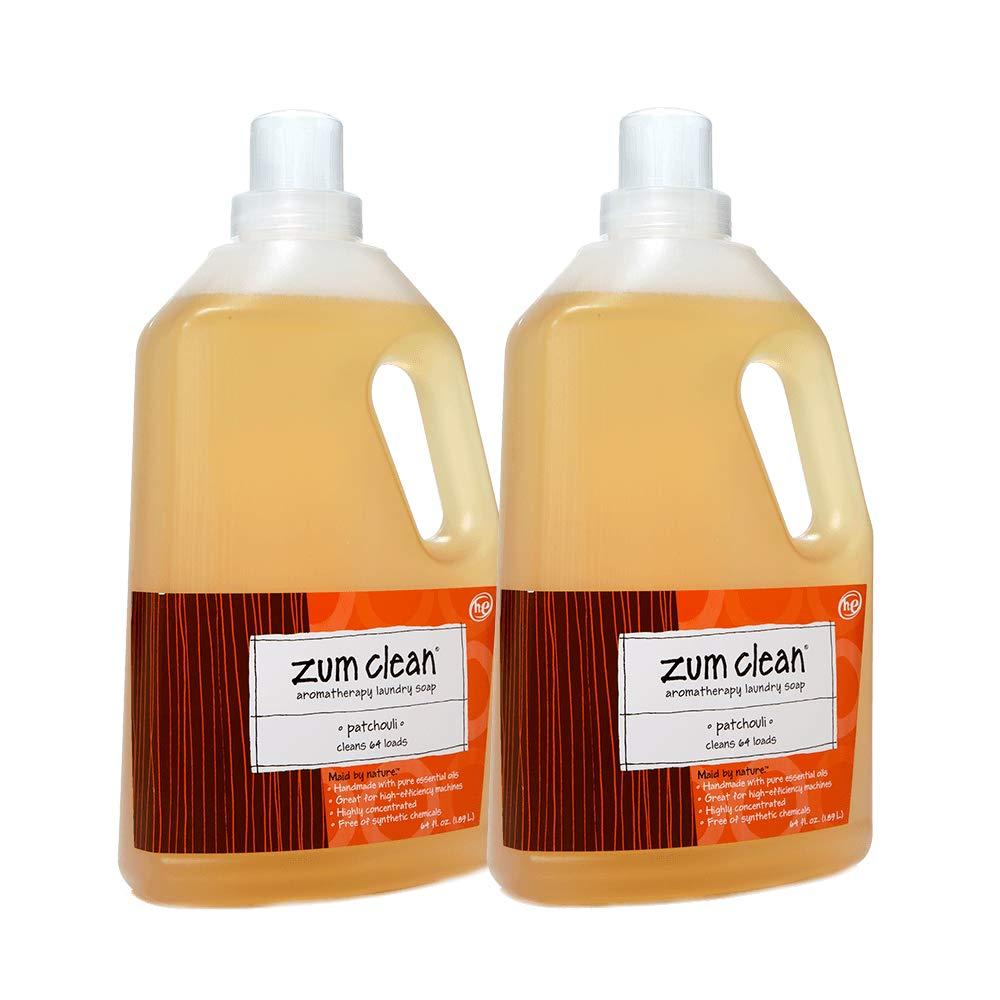 Indigo Wild Zum Clean Laundry Soap - Patchouli, 64 Fl. Oz. - 2 Pack by Indigo Wild