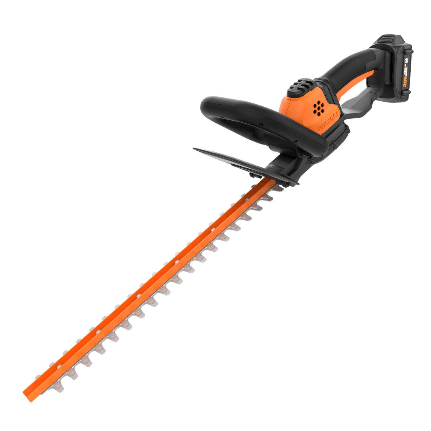 WORX WG261 20V (2.0Ah) Power Share 20-inch Cordless Hedge Trimmer, Battery and Charger included