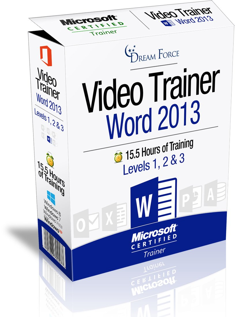 Amazon Word 2013 Training Videos 155 Hours Of Word 2013
