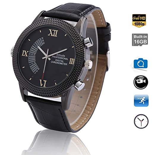 YMXLJJ Smart Digital Watch 1080P Cámara Full HD Infrarrojo ...