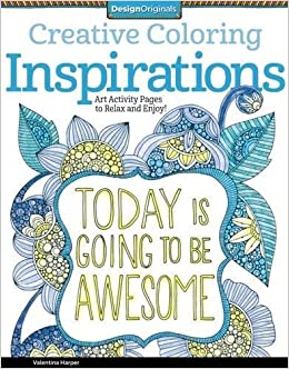 Creative Coloring Inspirations: Art Activity Pages to Relax and ...