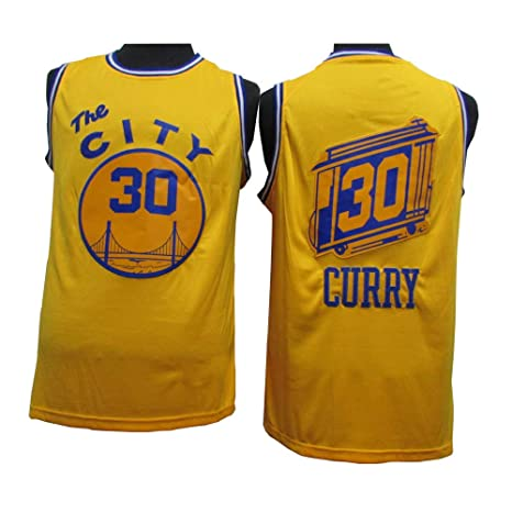LLforever Hombres Camiseta De Guerreros # 30 Stephen Curry 20 ...