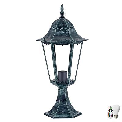 Lampe De Stand Rustique Telecommande D Eclairage Exterieur Lanterne