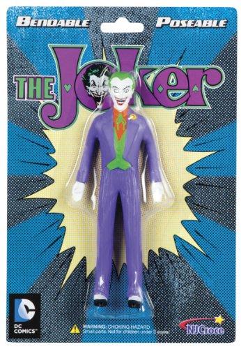 NJ Croce The Joker 5-Inch Bendable Figure (Cartoon Figure)