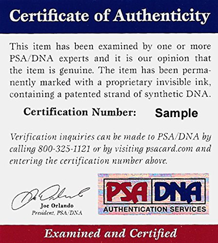 NEW YORK GIANTS PHIL SIMMS AUTOGRAPHED BLUE JERSEY PSA/DNA STOCK #105033