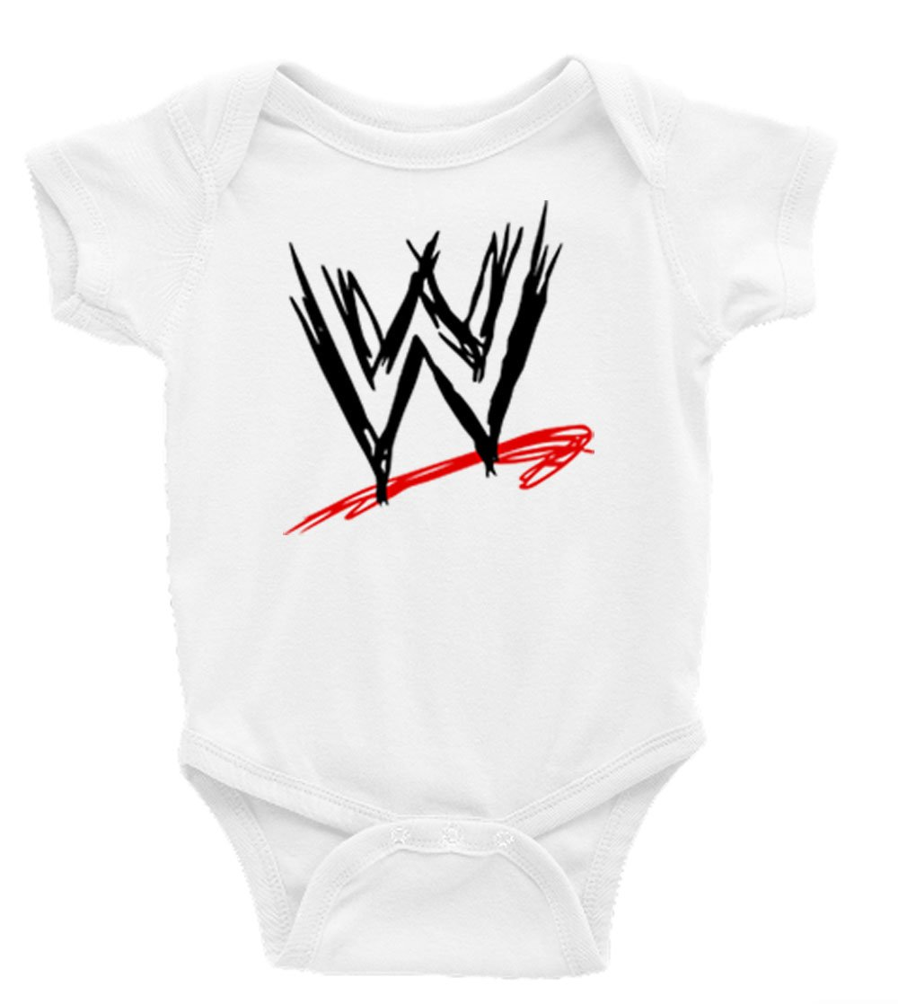 WWE Wrestling Short Sleeves Unisex Baby/Toddler Onesie (3-6)