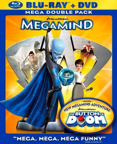 Megamind (Two-Disc Blu-ray/DVD Combo) by Paramount Pictures