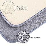 Memory Foam Bath Mat Non Slip Bathroom Rugs with