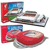 [Nanostad 2 piece set] Liverpool (Anfield) and Bayern Munich (Allianz Arena) Stadium 3D puzzle