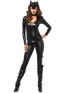 Batman And Catwoman Halloween Costumes.Amazon Com Secret Wishes Women S Dark Knight Rises Adult Catwoman