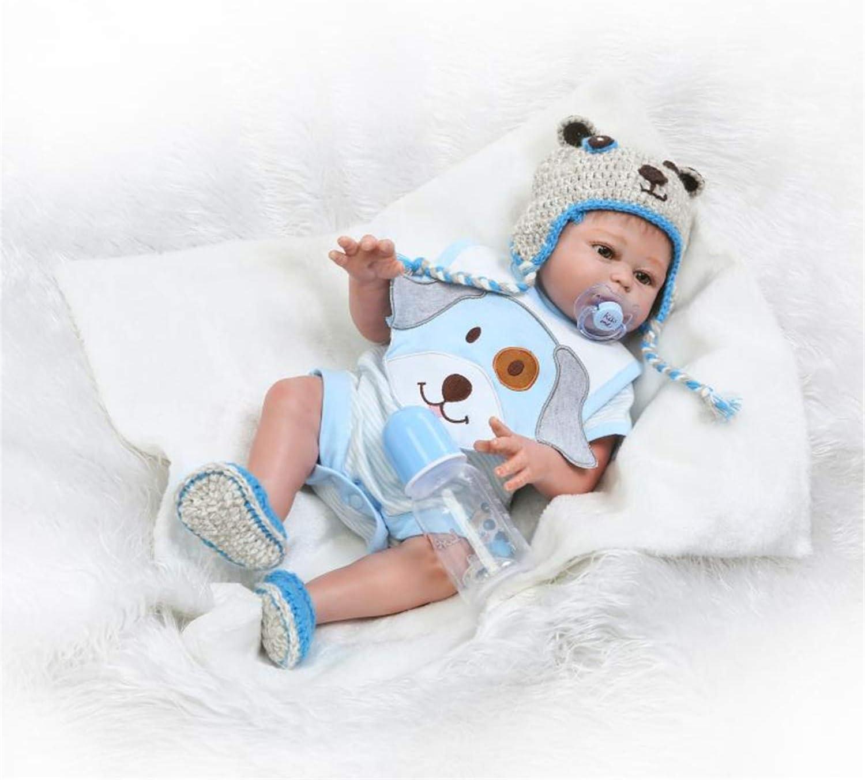 """20/"""" Full Body Silicone Reborn Baby Dolls Twins Boy+Girl Washable Newborn Babies"""