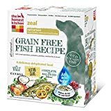 The Honest Kitchen Zeal Grain Free Dog Food - Natural Human Grade Dehydrated Dog Food, White Fish, 10 lbs (Makes 40 lbs)