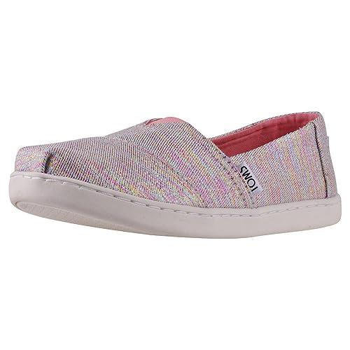 Toms Classic Twill Glimmer Ninos Zapatillas sin Cordones: Amazon.es: Zapatos y complementos