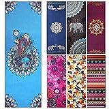 "Yoga Towel - Fremous Non Slip Yoga Mat Towels with Corner Pocket Design(72""x25"")"