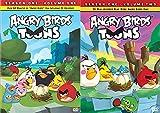 Angry Birds Toon Season 1 DVD Bundle - Angry Birds TOONS (Season 1 Vol 1) & Angry Birds Toons (Season 1 Vol 2)
