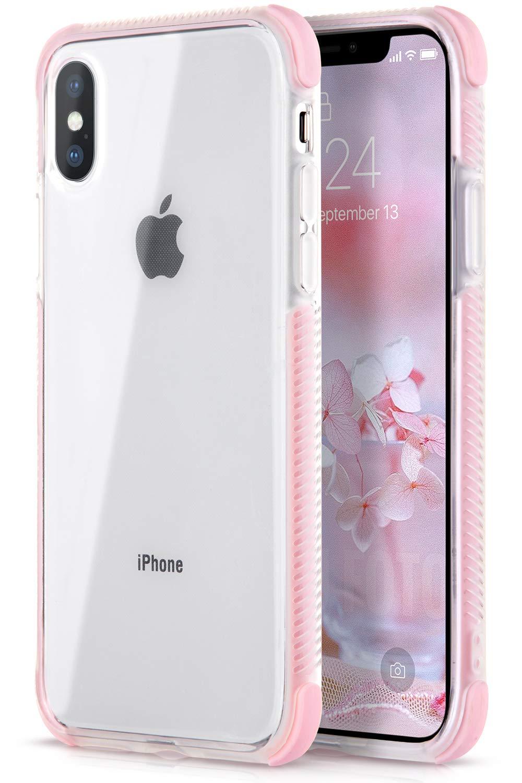 iPhone XSのためのUrbanDramaケース、iPhone Xケース、クリアスリムな耐衝撃性アンチスクラッチハイブリッドハードPC TPUバンパー保護電話ケースiPhone X 2017 / iPhone XS 2018用   B07J2L2MSP