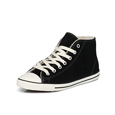 29e7fe008318 Converse All Star Dainty Trainers Black 8 UK  Amazon.co.uk  Shoes   Bags