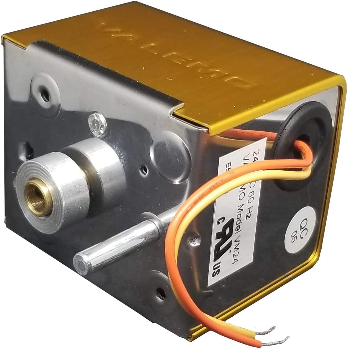Valemo VDM10, Spring Return Damper Actuator & Motor, Replacement Damper Motor Actuator for Honeywell ARD ZD M847D & Similar Actuators, 24VAC, No Switch
