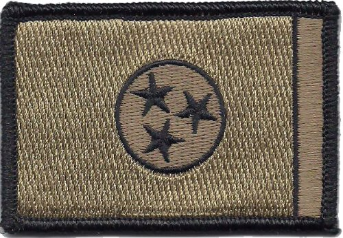 Tennessee Tactical Flag Patch