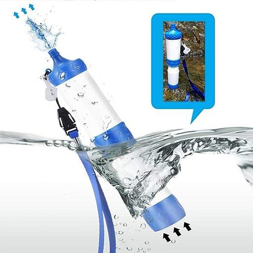 ZYXJSQ Filtro de Agua de Campo Purificador de Agua al Aire Libre ...