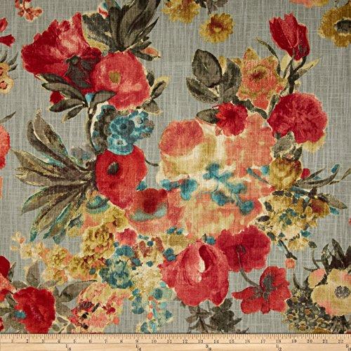 HGTV Home Garden Odyssey Slub, - Upholstery Floral Fabric