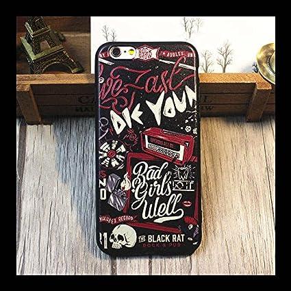 Cranio E Rose Cases Cover iPhone 6 Plus 5.5 Zoll Frasi Famose ...