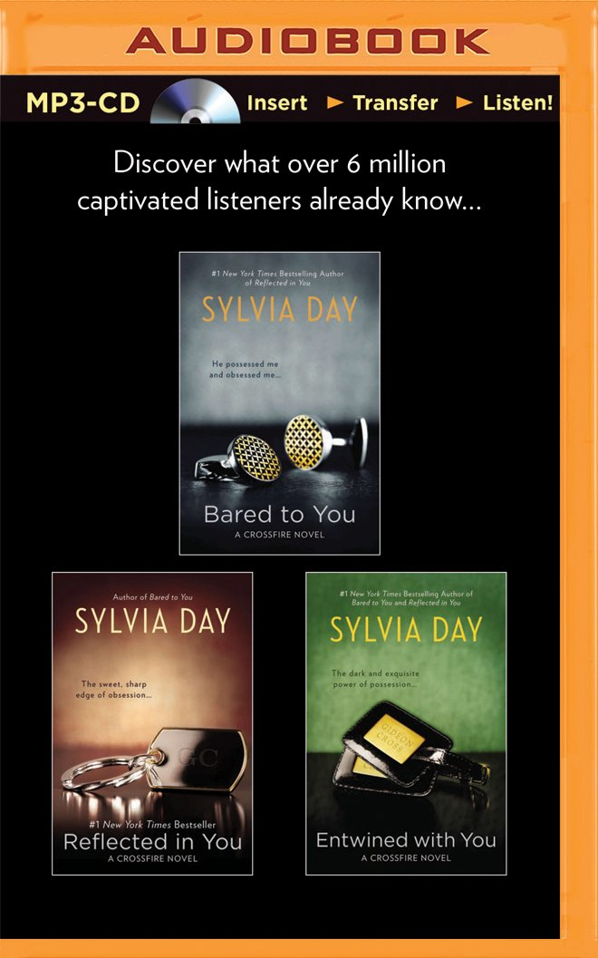 Sylvia Day Crossfire Series Boxed Set: Bared to You, Reflected in You, and Entwined with You pdf