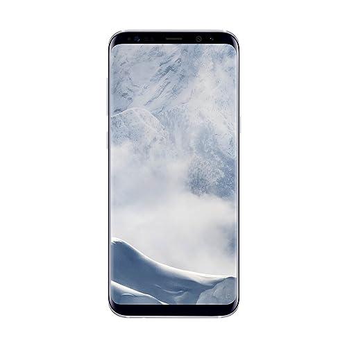 Samsung Galaxy S8 Plus Smartphone libre de 6 2 QHD 4 G Bluetooth Octa Core S 64 GB memoria interna 4 GB RAM camara de 12 MP Android Plata Versión española