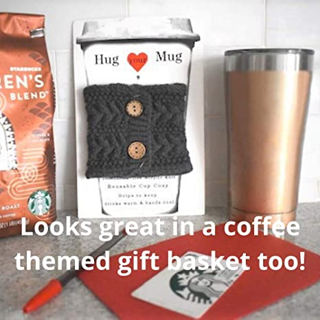Set of 2 Coffee sleeve Texans Coffee cup cozy Coffee Cup Cozy