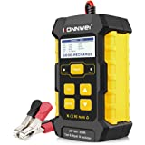 KONNWEI 3 in 1 Battery Charger, Car Battery Tester KW510 12V 5-Amp Fully Automatic Smart Charger Automotive Pulse Repair Main