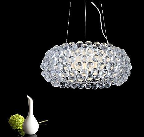 Amazon.com: DTTXDSW - Lámpara de techo (acrílico, cristal ...