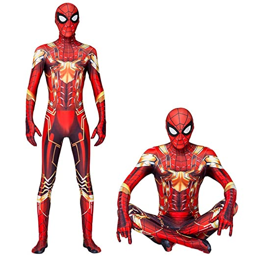 CHXY Iron Spiderman NiñO Adulto Ropa Cosplay Vestido Halloween ...