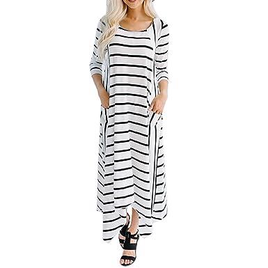 50134ff596ec Kingwo Women s Long Sleeve Dress