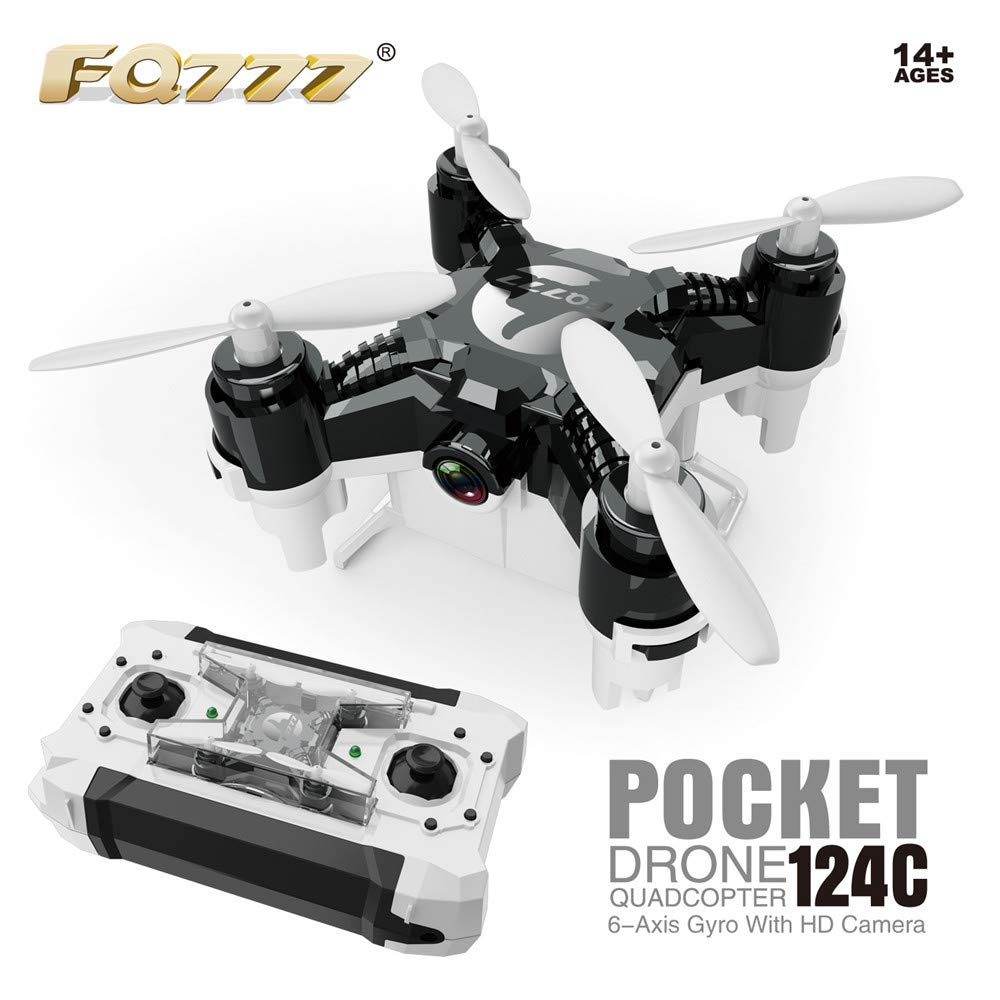 RC Drones, Quadcopter mit 2,4G 360 ° UFO Mini Quadcopter Drone, Flips & Rolls Fernbedienung One Key Return Helicopter