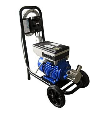 Leche Bomba molkerei Vario 55t4 terciopelo lenze variador de frecuencia de 1.5 KW, velocidad regulable