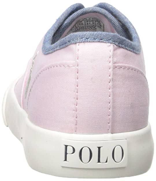Amazon.com | Polo Ralph Lauren Kids Vali Gore P Chino-B Cham Fashion Sneaker  (Toddler/Little Kid) | Loafers