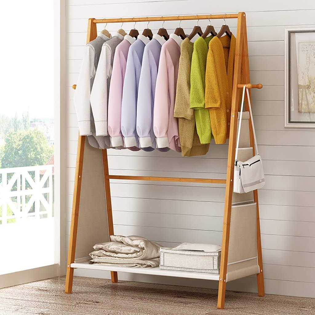 床立てコートラック無垢材衣服ハンガー服の木シンプル寝室に適した居間やその他のシーン (色 : 100cm) B07GTS6YR1 100cm 100cm