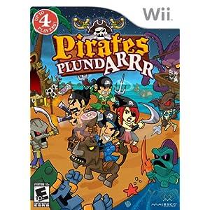 Pirates Plundarrr - Nintendo Wii