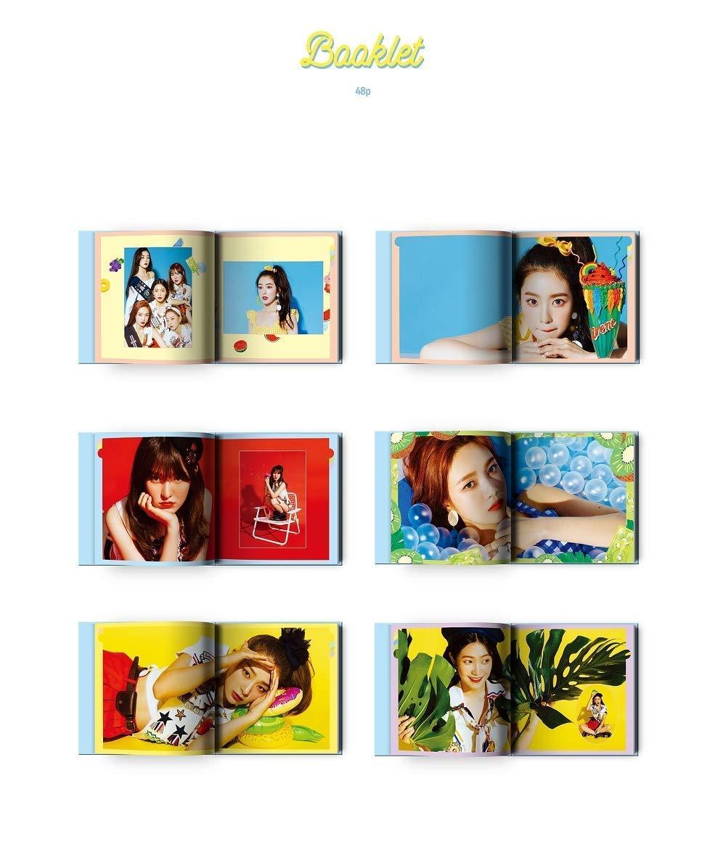 CD+Booklet+Folded Poster SM Entertainment RED Velvet Summer Mini Album Summer Magic Standard Edition