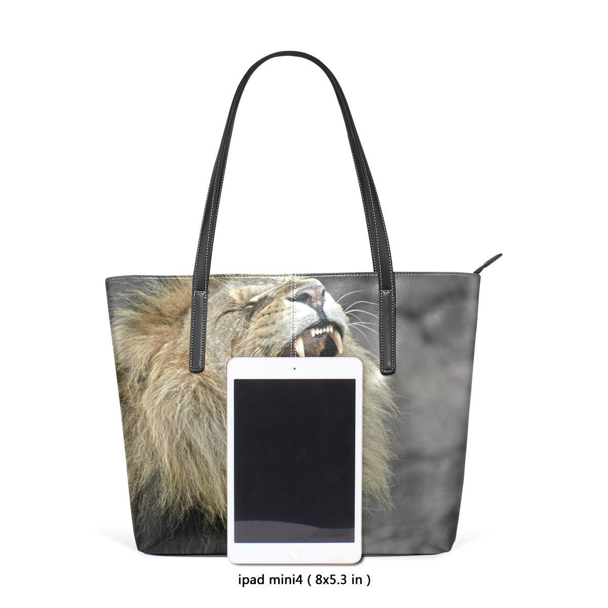 Amazon.com: Bolso de piel sintética para mujer, con diseño ...