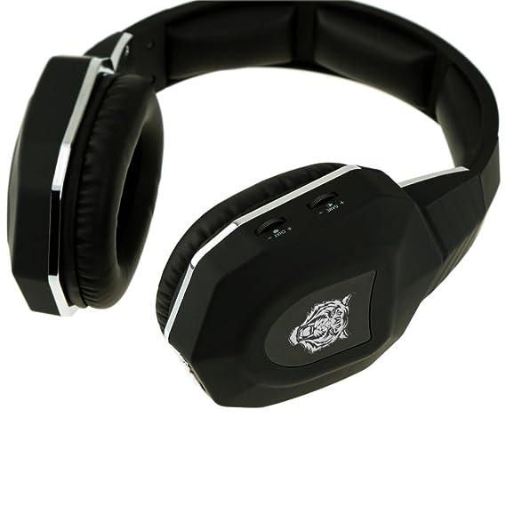 KerRoneTM para Xbox One/Xbox 360/PS4/PS3/PC analogias fibra óptica estéreo inalámbrico auriculares con micrófono: Amazon.es: Electrónica