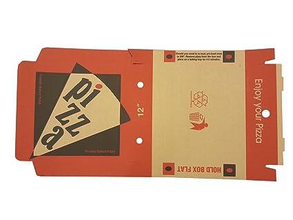 12 cm cajas de PIZZA – 100 por paquete