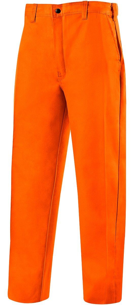 30 Inseam 36 Waist 30 Inseam ERB Steiner 104-3630 Weld Lite 9-Ounce Flame Resistant Cotton Orange Pants 36 Waist