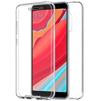 TBOC Funda para Xiaomi Pocophone F1- Poco F1 - Carcasa [Transparente] Completa [Silicona TPU] Doble Cara [360 Grados] Protección Integral Total ...