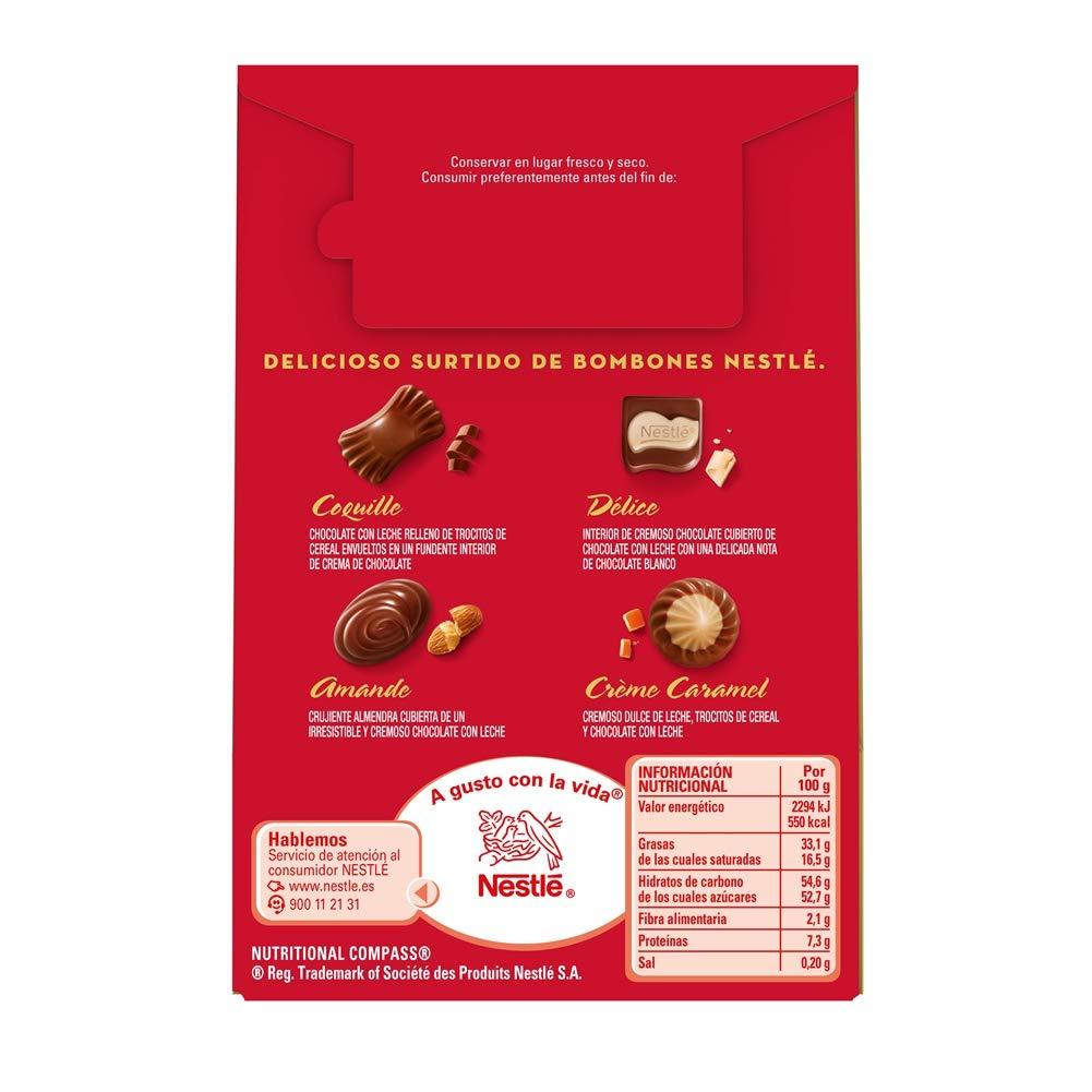 NESTLÉ CAJA ROJA Bombones de Chocolate - Bolsa 100g: Amazon.es: Amazon Pantry
