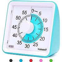 Yunbaoit Visuele Analoge Timer,Stille Countdown Clock, Time Management Tool voor kinderen en volwassenen (blauw)
