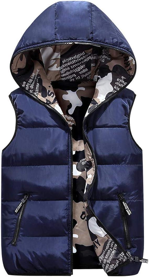 New Mens BodyWarmer Gilet Winter Quilted Sleeveless Reversible Black Jacket Coat