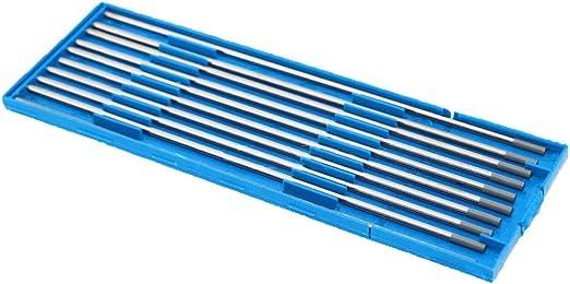 1,0 mm x 150 mm de 10 pi/èces par paquet TEN-HIGH Soudage TIG /Électrodes en tungst/ène 1,5/% de Lanthane Or WL15